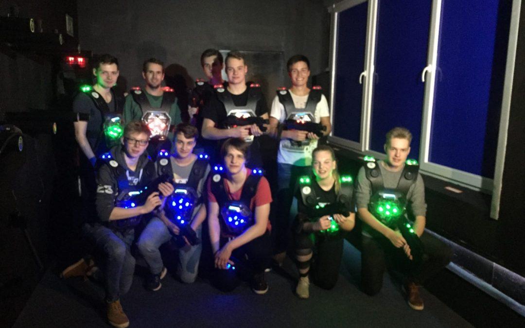 Jugendgruppenausflug Lasertag