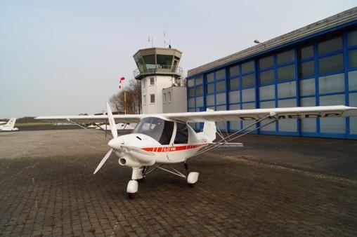 Neues Ultraleichtflugzeug in Münster-Telgte gelandet
